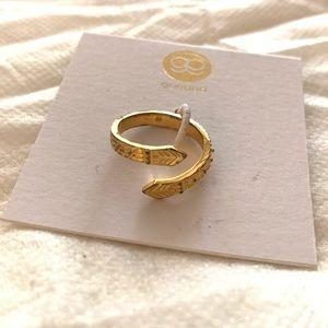 Gold gorjana ring